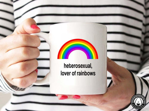 Lover of Rainbows Coffee Mug,Coffee Mugs Never Lie,Coffee Mug