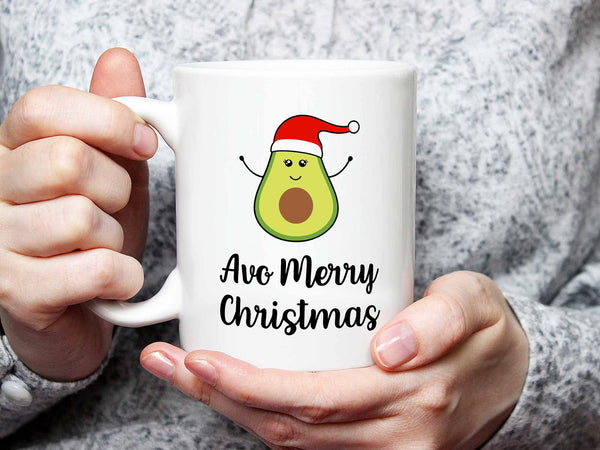 Avo Merry Christmas Coffee Mug