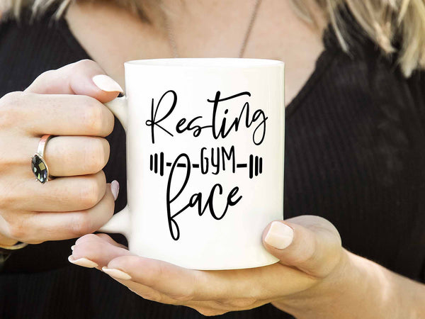 Resting Gym Face 2.0 Coffee Mug,Coffee Mugs Never Lie,Coffee Mug
