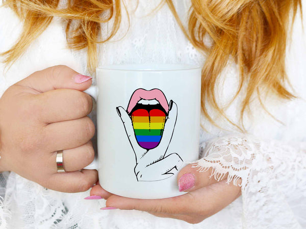 Pride Tongue Coffee Mug