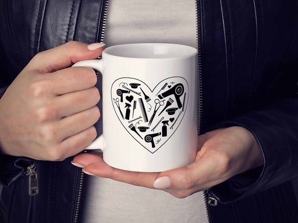 Stylist Heart Coffee Mug,Coffee Mugs Never Lie,Coffee Mug