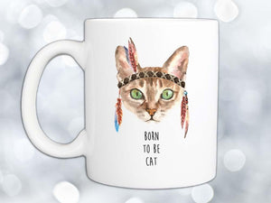 Born to Be Cat Coffee Mug,Coffee Mugs Never Lie,Coffee Mug