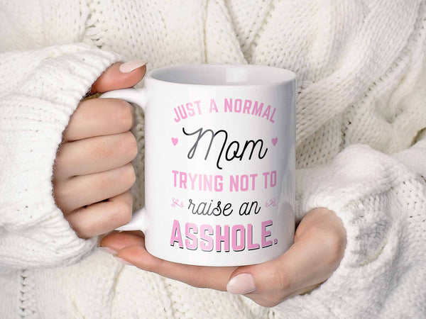 Just a Normal Mom Coffee Mug,Coffee Mugs Never Lie,Coffee Mug