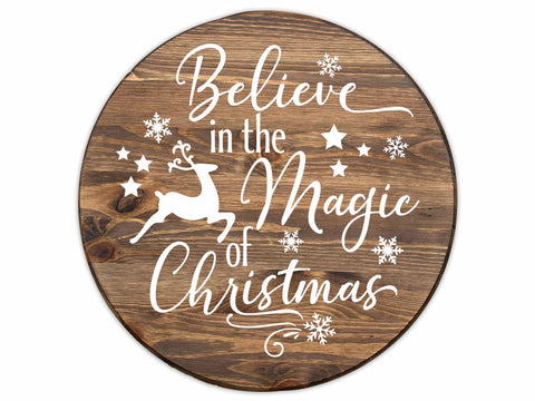 The Magic of Christmas Sign