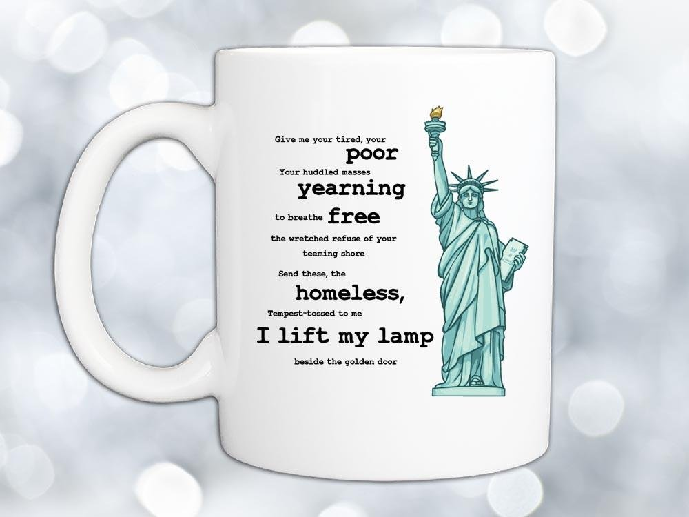 Statue of Liberty Coffee Mug,Coffee Mugs Never Lie,Coffee Mug