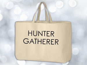 Hunter Gatherer Grocery Tote Bag,Coffee Mugs Never Lie,Grocery Tote Bag