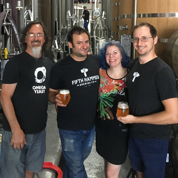 See What You Can Brew E5 – Chris Cuzme & Mary Izett – Fifth Hammer Brewing