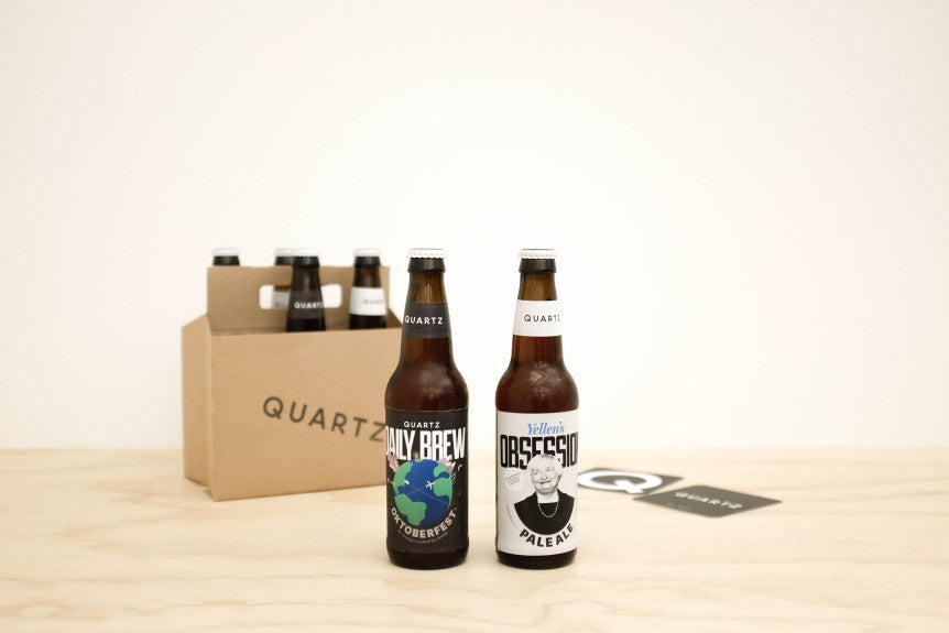 Quartz + Bitter & Esters = Custom Beers