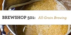 Brewshop 501: All-Grain Brewing