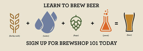 Sign up for Brewshop 101 Today