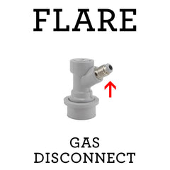 Gas Quick Disconnect (Flare)