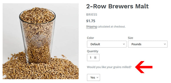 Milling Grain Options