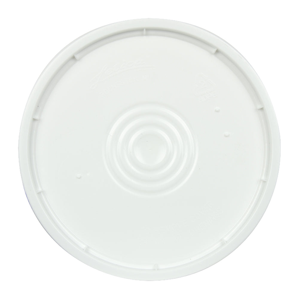 Lid for 3.5 Gallon Bucket (No Hole)