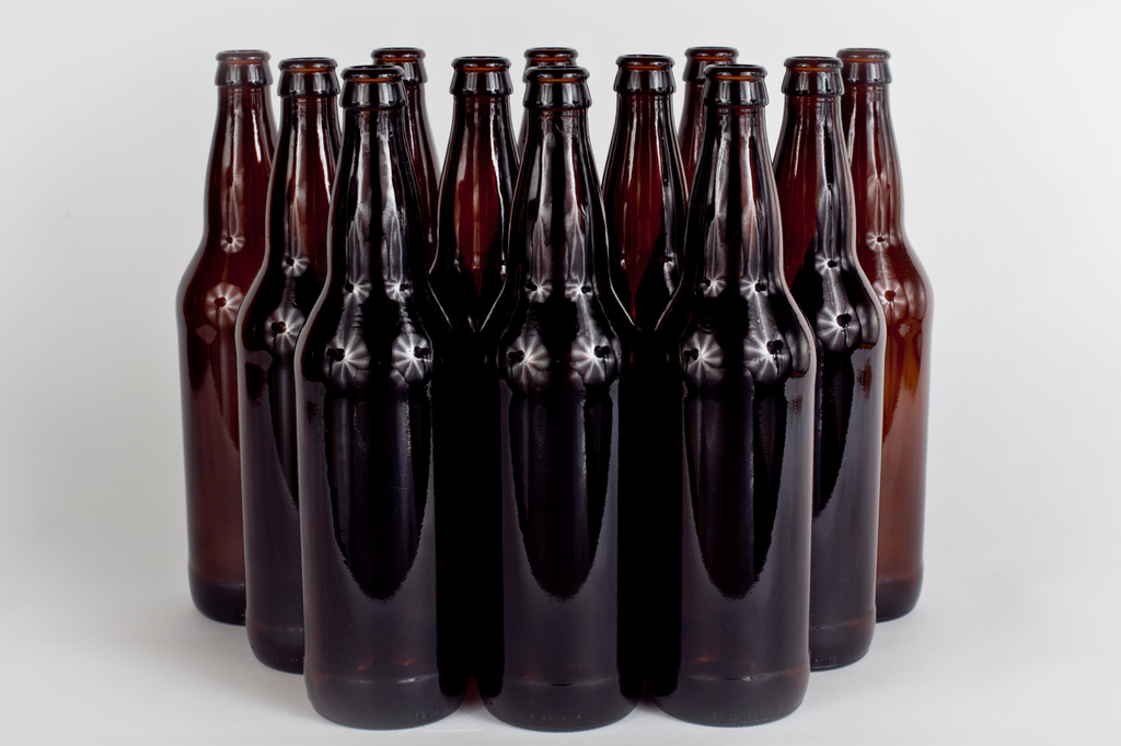 Beer Bottles - 22oz - Case of 12