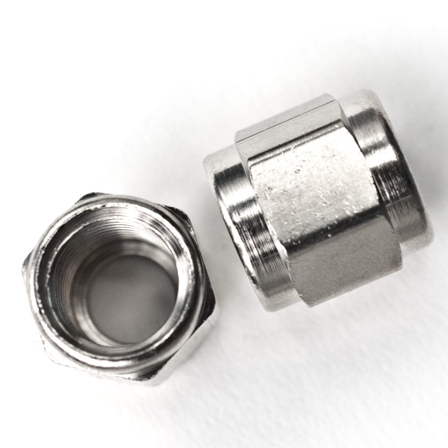 Flare Fitting- 1/4 inch swivel nut-Kegging