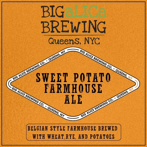 Sweet Potato Farmhouse Ale