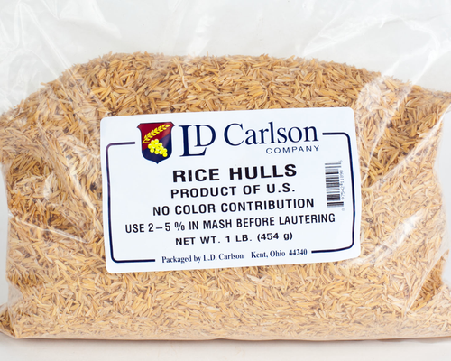 Rice Hulls - 1#-Adjunct
