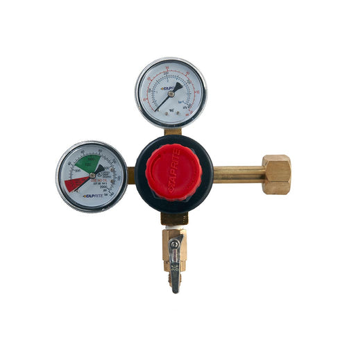 Premium CO2 Regulator – Dual Gauge – MFL Outlet – Shutoff-CO2 Regulator