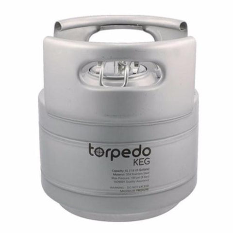 2.5 Gallon Stainless Steel Ball Lock Keg