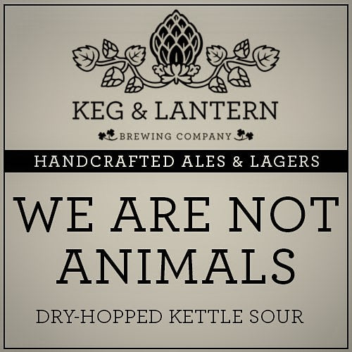 We Are Not Animals-Beer Kits