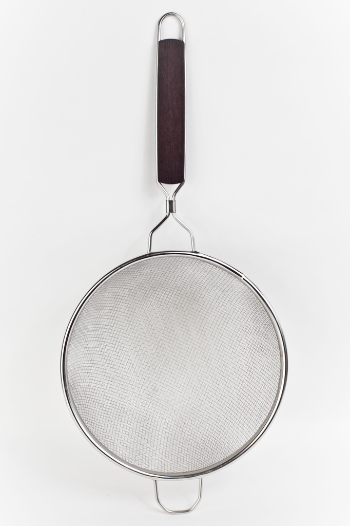 Stainless Steel Double Mesh Strainer 10""