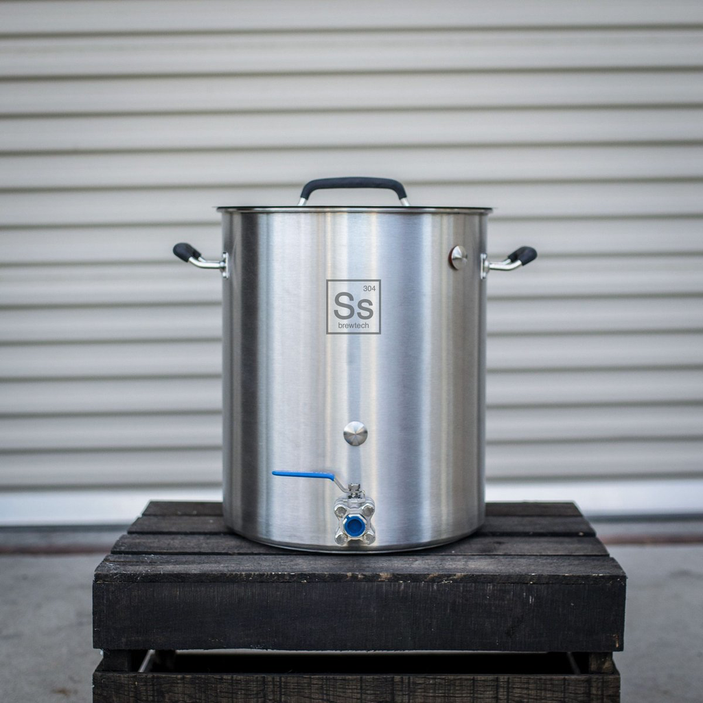 SS - Brewtech 10 Gallon Stainless Brew Kettle-Equipment