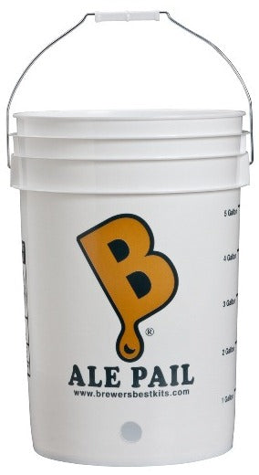 "6.5 Gallon Bucket (with Pre-Drilled 1"" Hole)"