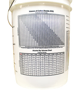 "6.5 Gallon Bucket (Pre-Drilled 1"" Hole)-Bucket"