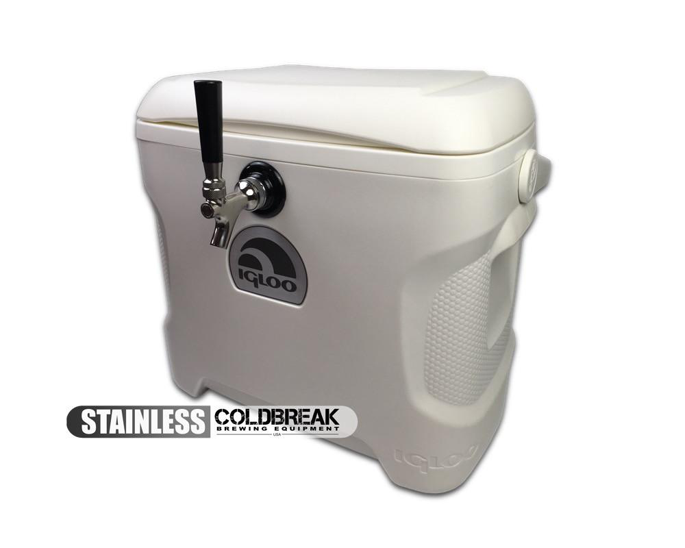 Jockey Box - Single Tap - 30 Quart Cooler