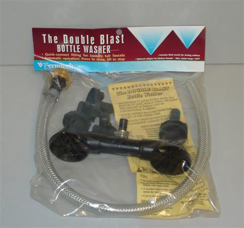 Double Blast Bottle Washer