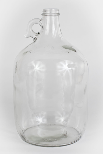 Clear one gallon glass jug-Carboy