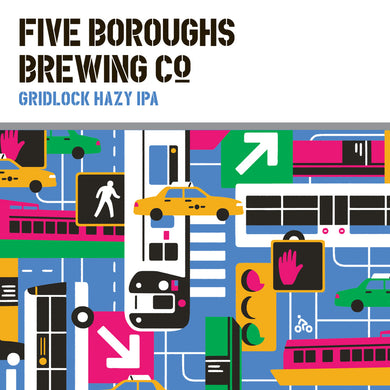 Five Boroughs Brewing Co. Gridlock Hazy IPA Recipe