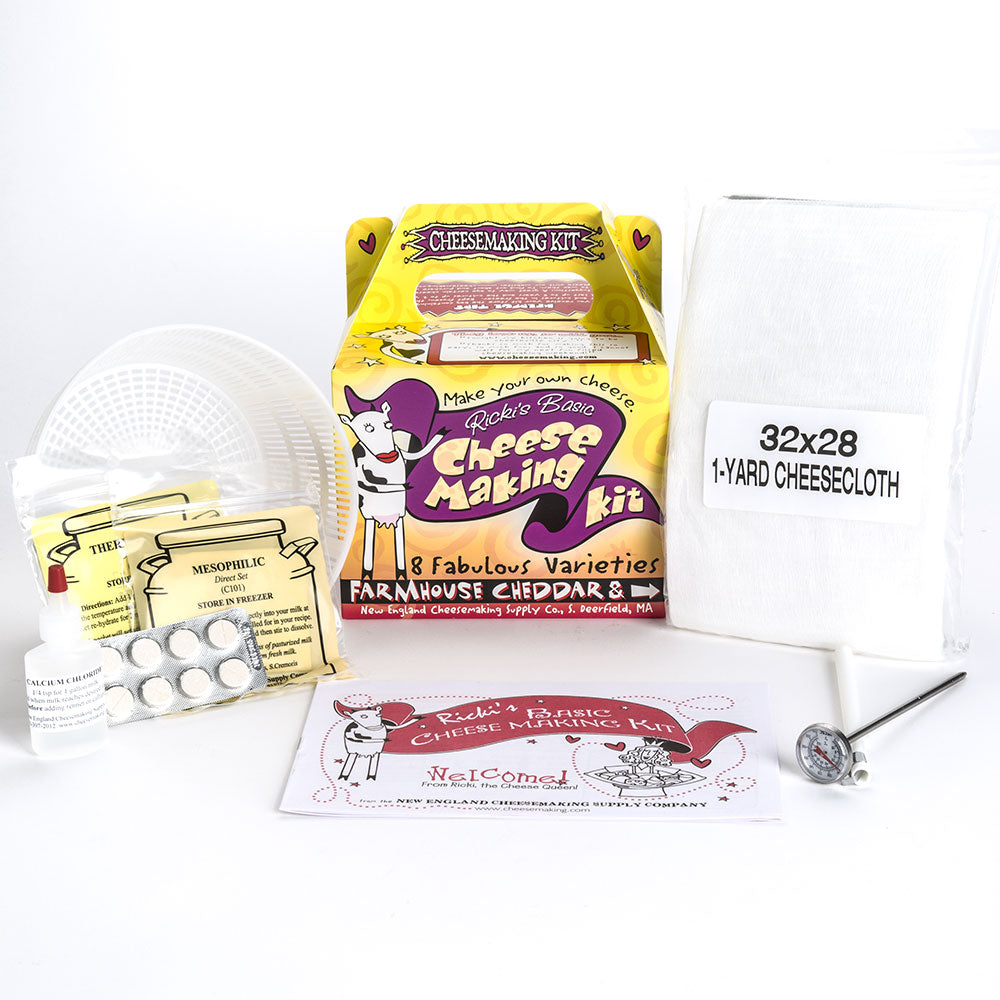 New England Beginning Cheesemaking Kit-Cheese Making Kit