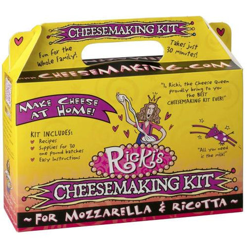 Mozzarella and Ricotta Cheesemaking Kit
