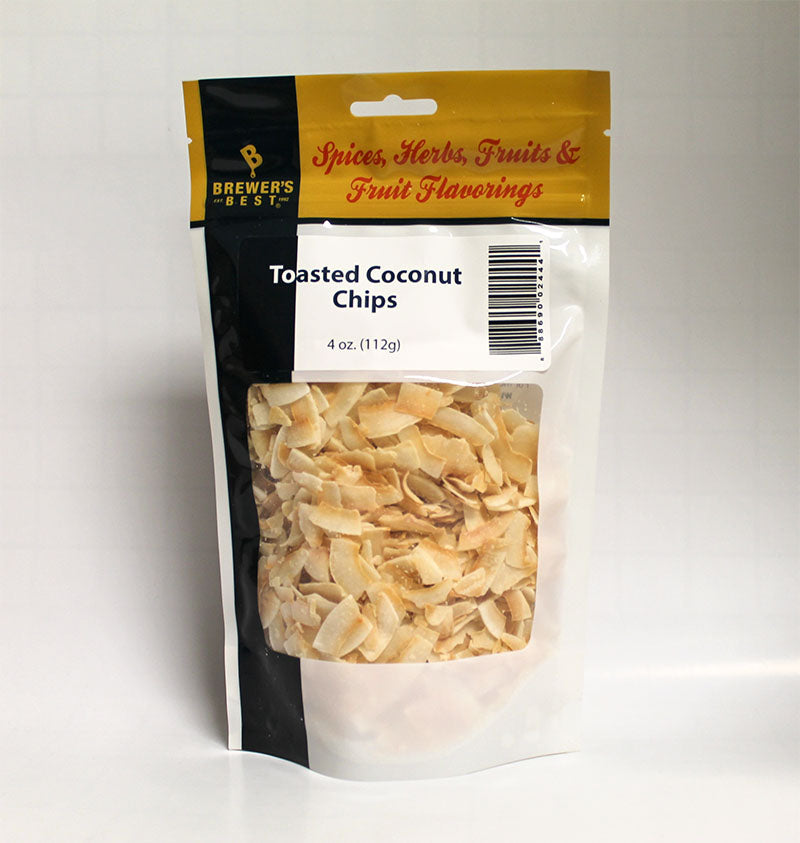 Toasted Coconut Chips - 4 oz-Adjunct