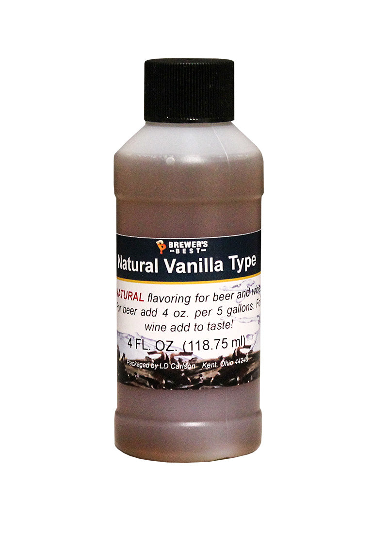 Natural Vanilla Type Extract - 4 oz-Flavoring