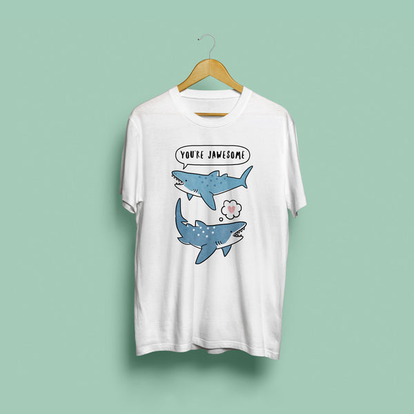 Jawesome Shark Unisex T-Shirt