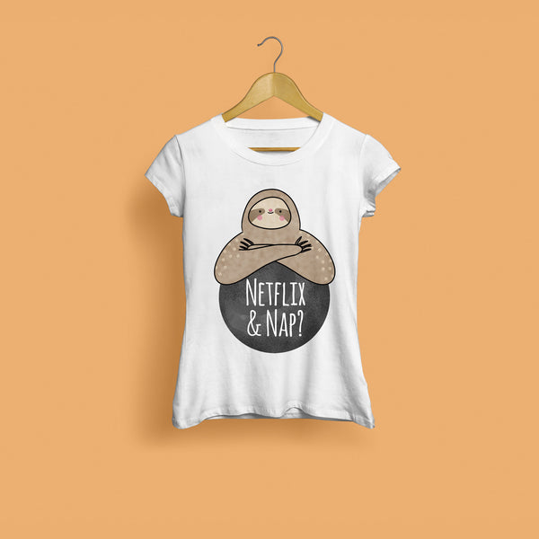 Netflix And Nap Women's T-Shirt