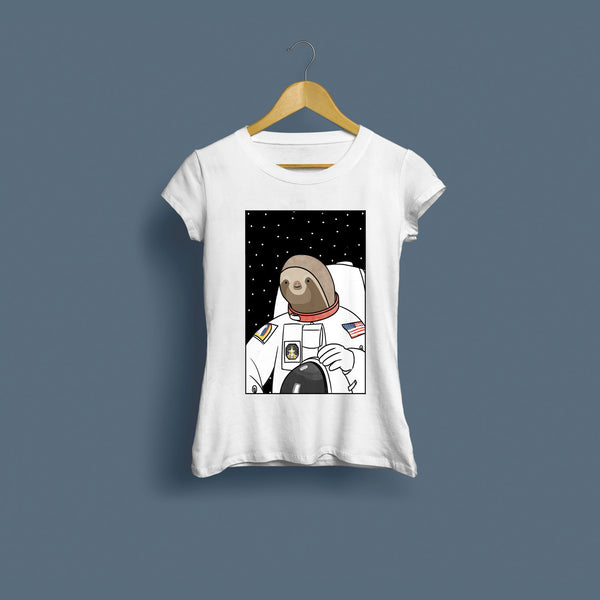 Slothstronaut Women's T-Shirt