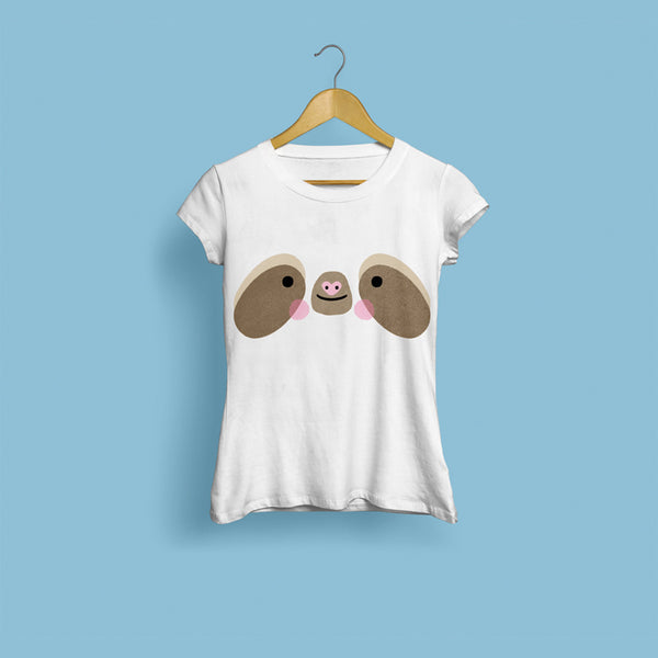 Sloth Face Women's T-Shirt