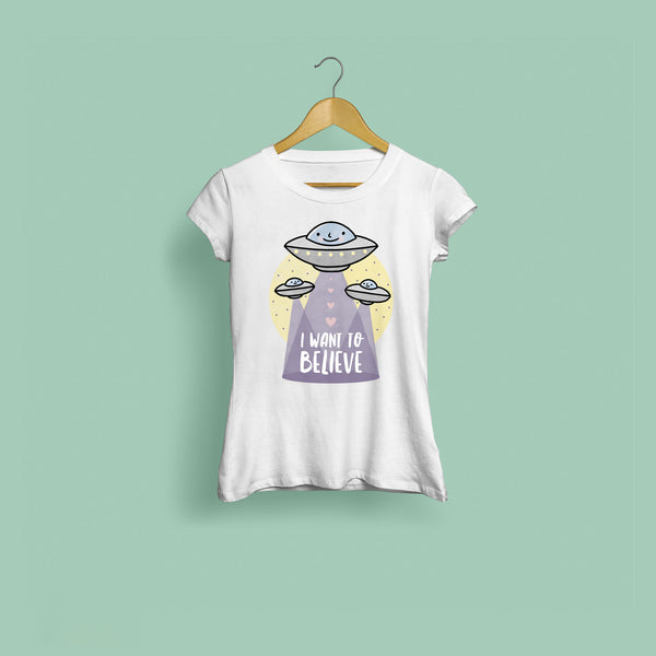 I Want To Believe Women's T-Shirt