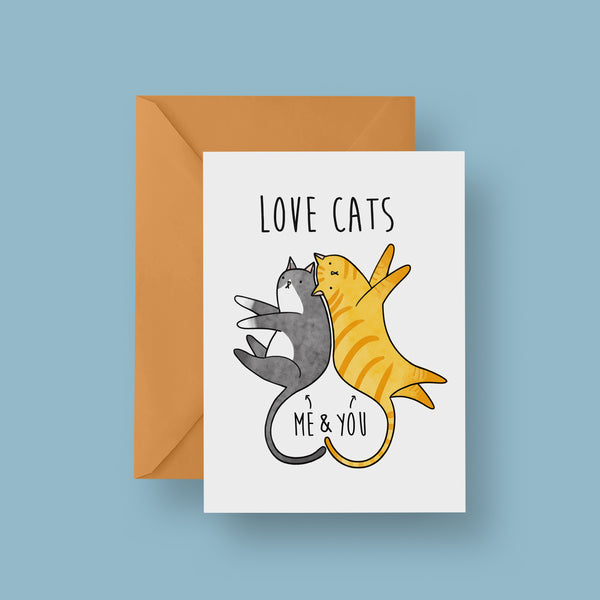 Love Cats Card