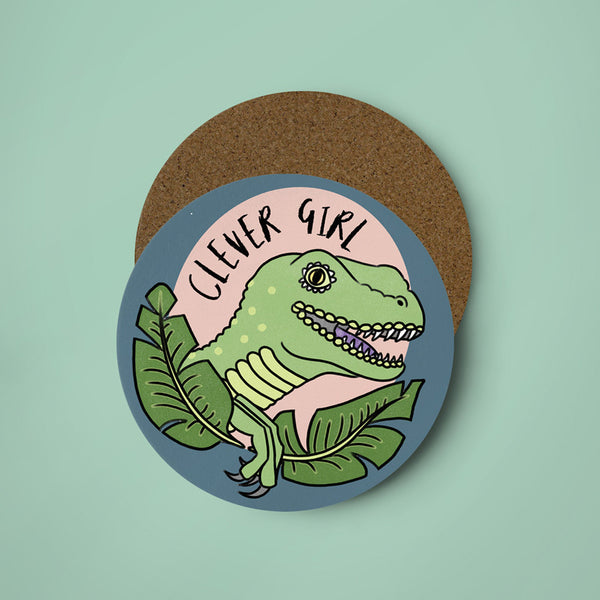 Clever Girl Coaster