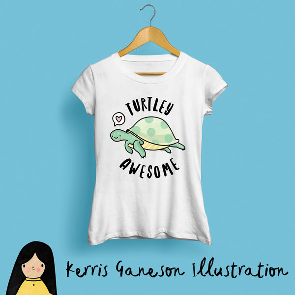 Turtley Awesome Women's T-Shirt