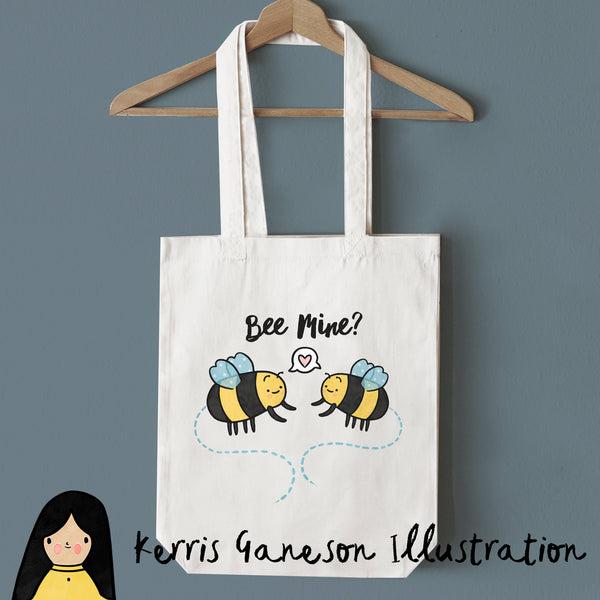 Bee Mine Tote Bag