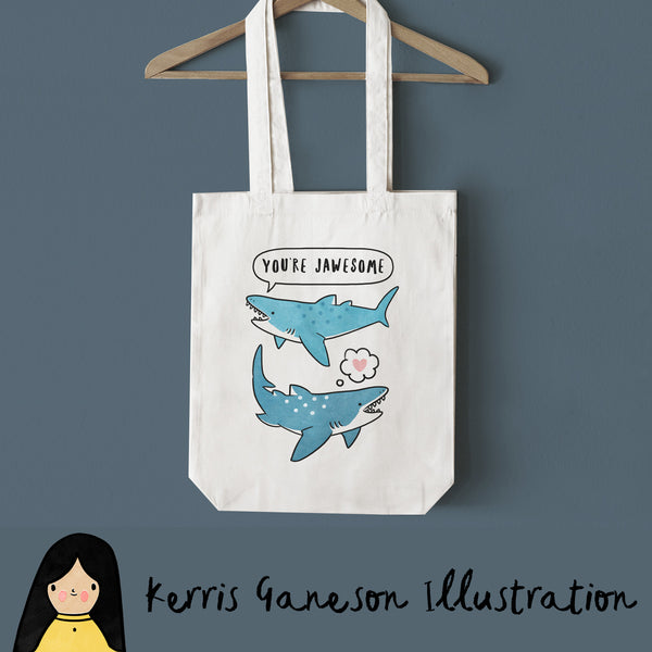 Jawesome Tote Bag