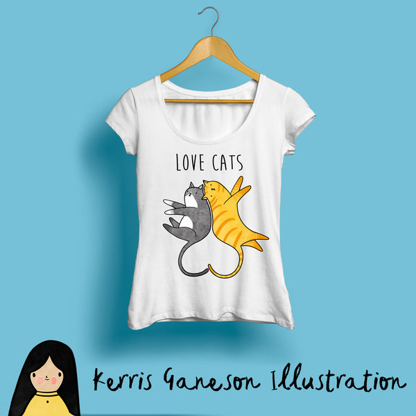 Love Cats, Women's T-Shirt