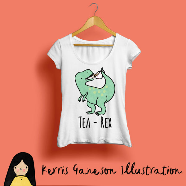 Tea-Rex, Women's T-Shirt
