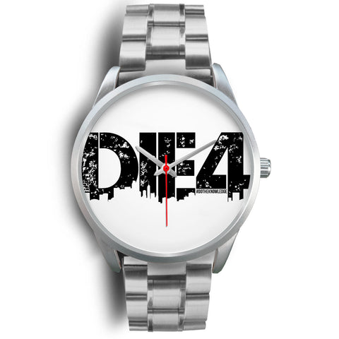 Die4 Custom Silver Watch