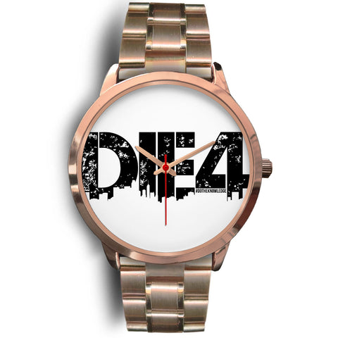 Die4 Custom Gold Watch